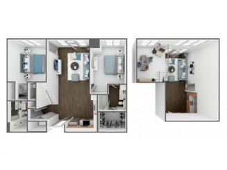 B1 Loft Floor plan layout