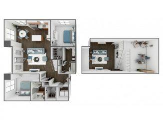 B2 Loft Floor plan layout