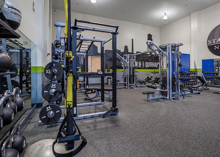Community Amenity - Photo Of A Gym