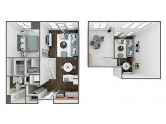 A1 Loft Floor plan layout