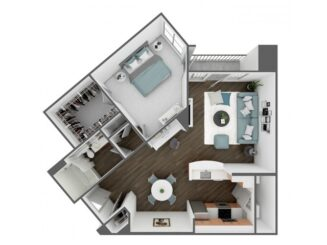 A5 Floor plan layout