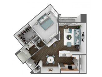 A5 Floor plan layout