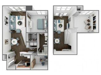 A3 Loft Floor plan layout